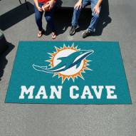 Miami Dolphins Man Cave Ulti-Mat Rug