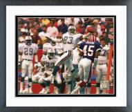 Miami Dolphins Mark Clayton 1988 Action Framed Photo