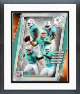 Miami Dolphins Miami Dolphins Team Composite Framed Photo