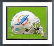 Miami Dolphins Miami Dolphins Helmet Framed Photo