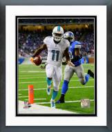Miami Dolphins Mike Wallace Action Framed Photo