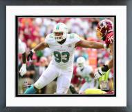 Miami Dolphins Ndamakong Suh Action Framed Photo