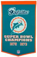Winning Streak Miami Dolphins NFL Dynasty Banner