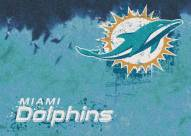 Miami Dolphins NFL Fade Area Rug
