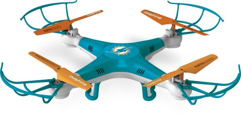 Miami Dolphins NFL Kickoff Quadcopter Drone