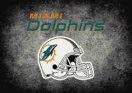 Miami Dolphins NFL Team Distressed Area Rug