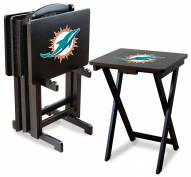 Miami Dolphins NFL TV Trays - Set of 4