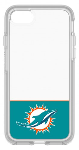 Miami Dolphins OtterBox iPhone 8/7 Symmetry Clear Case