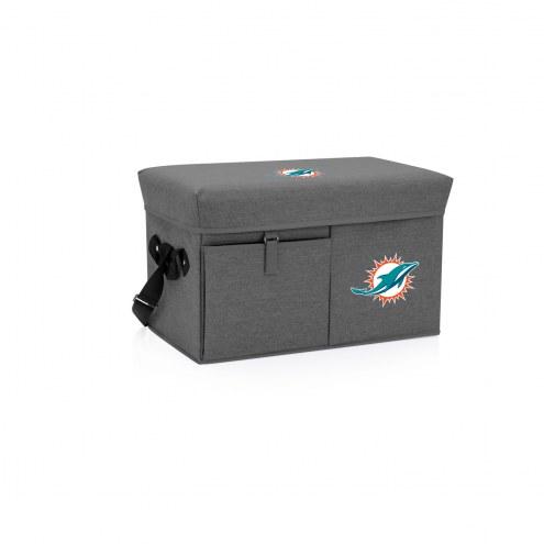 Miami Dolphins Ottoman Cooler & Seat
