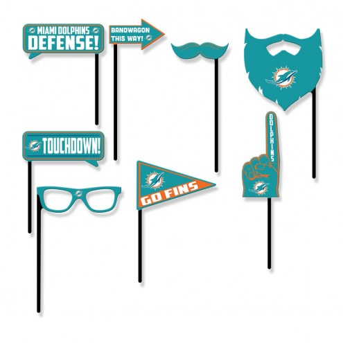 Miami Dolphins Party Props Selfie Kit