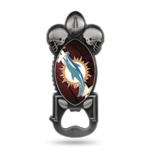 Miami Dolphins Party Starter Bottle Opener