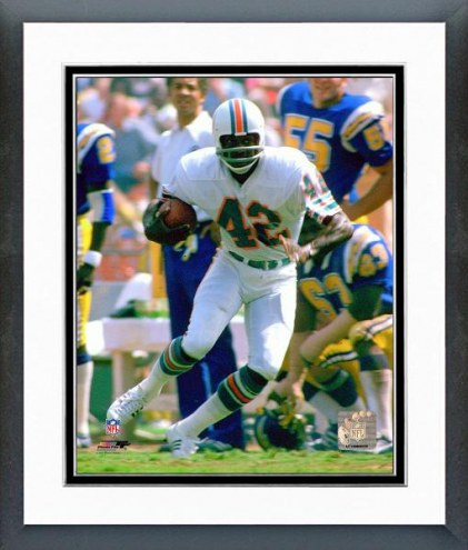 Miami Dolphins Paul Warfield 1974 Action Framed Photo