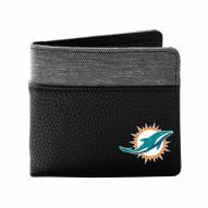 Miami Dolphins Pebble Bi-Fold Wallet