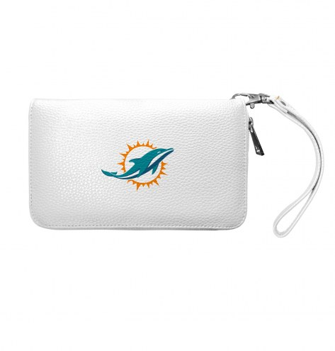 Miami Dolphins Pebble Organizer Wallet