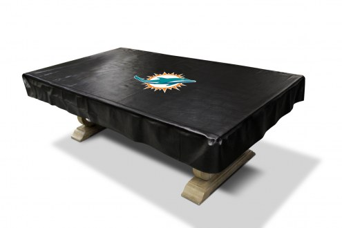 Miami Dolphins NFL Deluxe Pool Table Cover