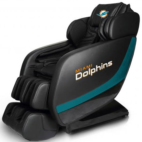 Miami Dolphins Professional 3D Massage Chair
