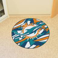 Miami Dolphins Quicksnap Rounded Mat