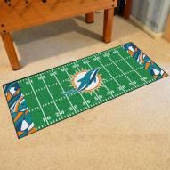 Miami Dolphins Quicksnap Runner Rug