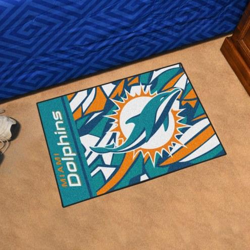 Miami Dolphins Quicksnap Starter Rug