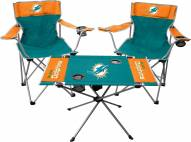 Miami Dolphins Table & Chairs Set