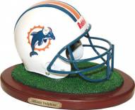 Miami Dolphins Collectible Football Helmet Figurine