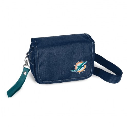 Miami Dolphins Ribbon Waist Pack Purse