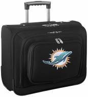 Miami Dolphins Rolling Laptop Overnighter Bag