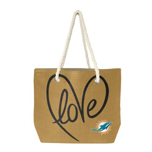 Miami Dolphins Rope Tote