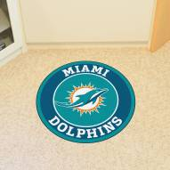 Miami Dolphins Rounded Mat