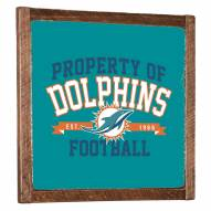 Miami Dolphins Vintage Wall Art