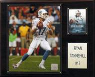 "Miami Dolphins Ryan Tannehill 12 x 15"" Player Plaque"