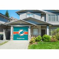 Miami Dolphins Single Garage Door Cover