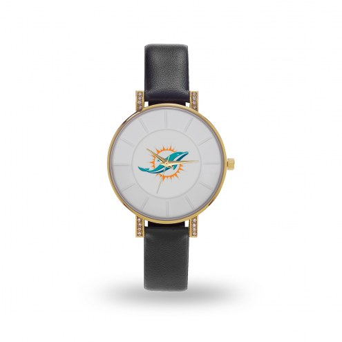 Miami Dolphins Sparo Women's Lunar Watch