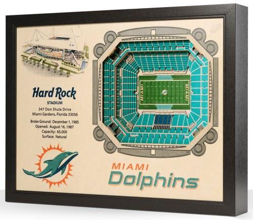 Miami Dolphins Stadium View Wall Art