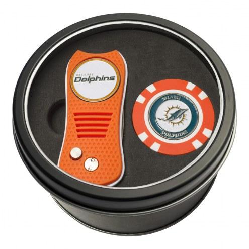 Miami Dolphins Switchfix Golf Divot Tool & Chip