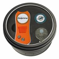 Miami Dolphins Switchfix Golf Divot Tool, Hat Clip, & Ball Marker