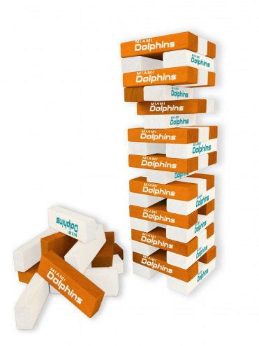 Miami Dolphins Table Top Stackers