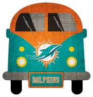 Miami Dolphins Team Bus Sign