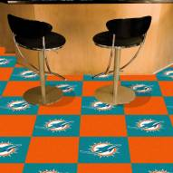 Miami Dolphins Team Carpet Tiles