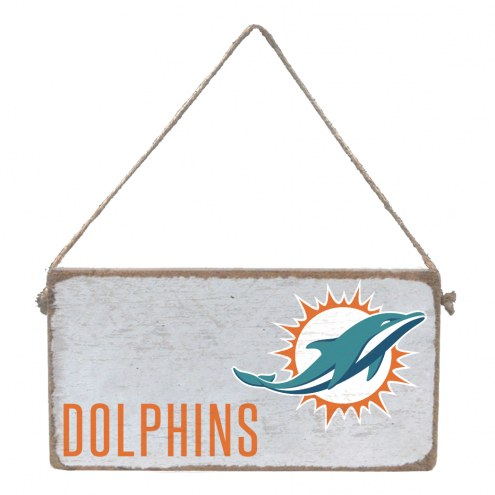 Miami Dolphins Mini Plank