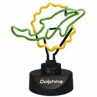 Miami Dolphins Team Logo Neon Lamp