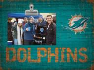 Miami Dolphins Team Name Clip Frame
