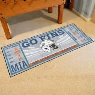 Miami Dolphins Ticket Runner Rug