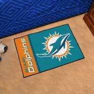 Miami Dolphins Uniform Inspired Starter Rug