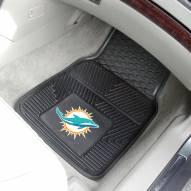 Miami Dolphins Vinyl 2-Piece Car Floor Mats
