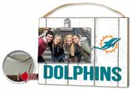 Miami Dolphins Weathered Logo Photo Frame