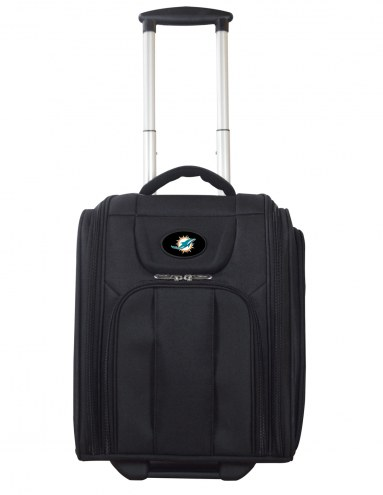 Miami Dolphins Wheeled Business Tote Laptop Bag