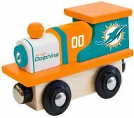 Miami Dolphins Wood Toy Train