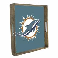 Miami Dolphins Wooden Tray