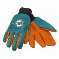 Miami Dolphins Work Gloves